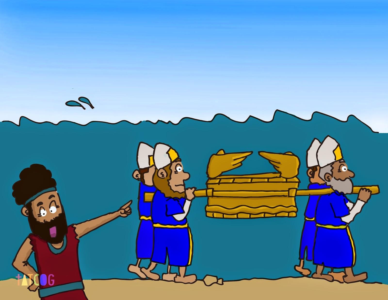 Israelites Cross The Jordan River Craft