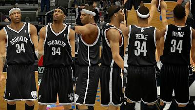 NBA 2K14 Brooklyn Nets Away Jersey