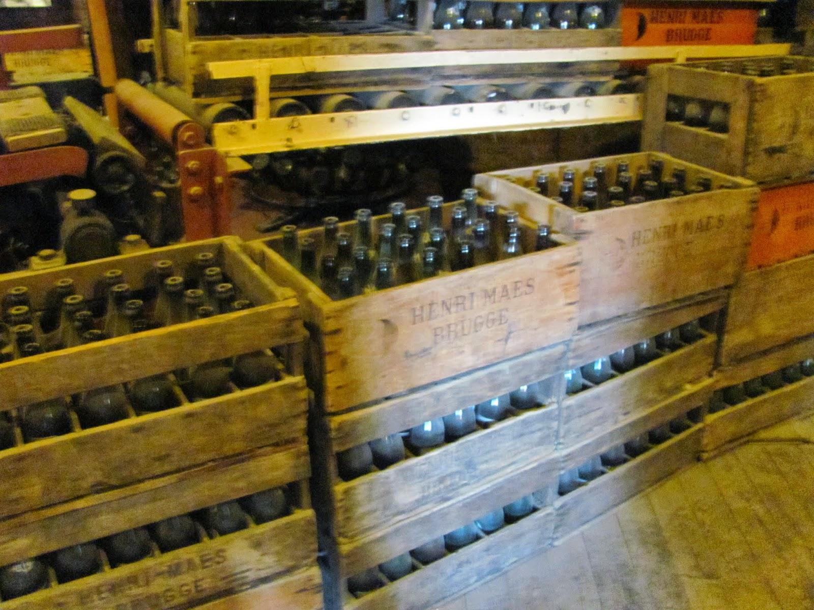 Halve Maan Bottles Bruges, Belgium