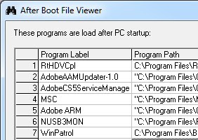 Download besplatni program After Boot File Viewer