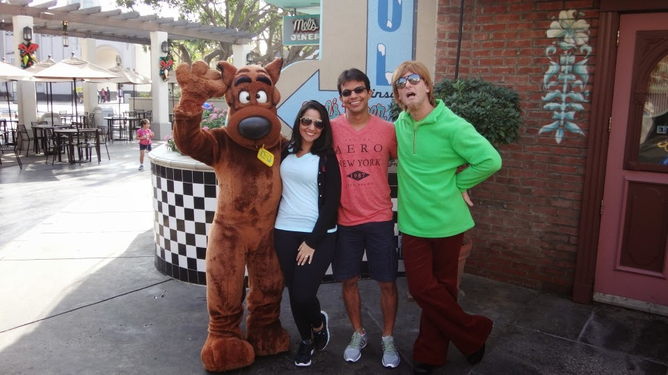 scooby-doo e salsicha - universal studios hollywood