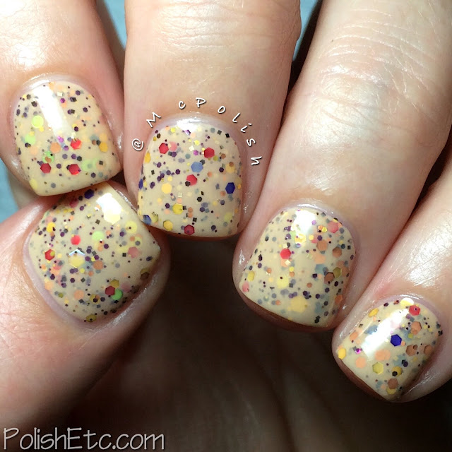KBShimmer Winter 2015 Crelly Polishes - McPolish - How Corn-y