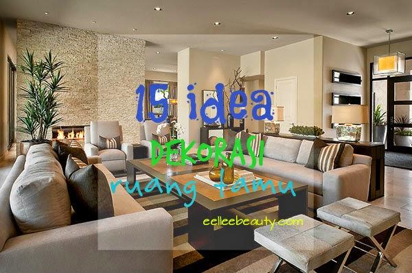 15 Idea Dekorasi Ruang Tamu Dengan Tema Hitam Putih