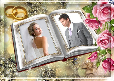 Wedding Frame for Valentine Day