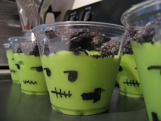 food gifts: frankenstein halloween treat