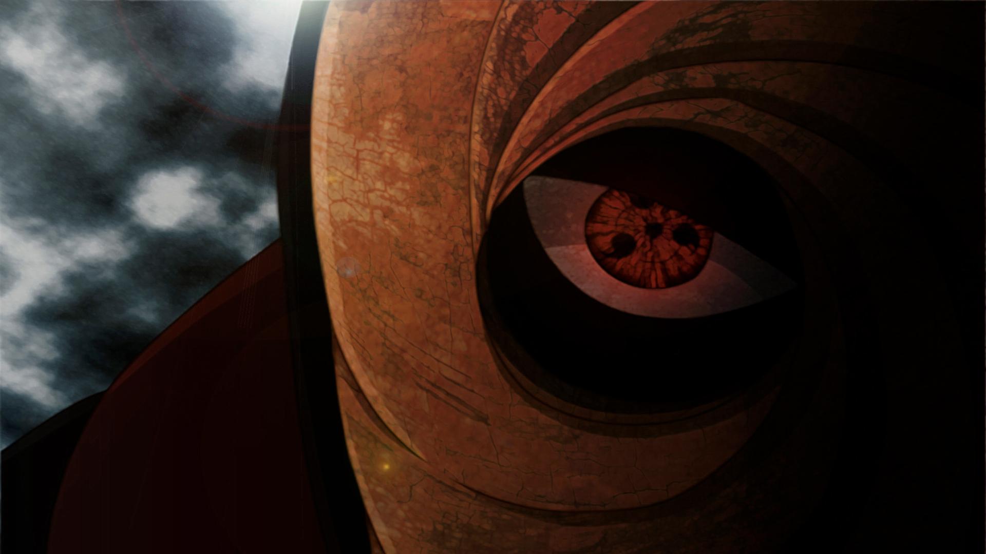 Obito Tobi Mask Sharingan Eyes Uchiha Anime Hd