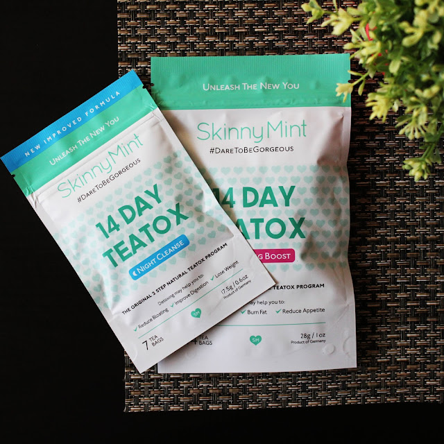 skinny mint teatox review, detoxing help ideas, how to detox, detox tea to lose weight, how to stop bloating