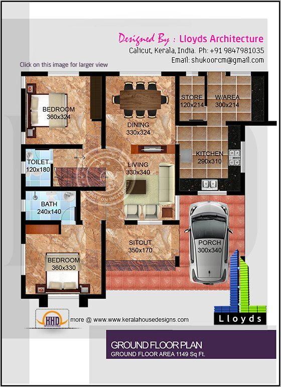 Square roof home elevation in 2400 for 2400 sq ft house plans 3d