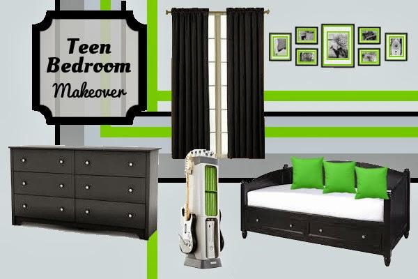 Bedroom Design: Teen Boys #Xbox Inspired Room Makeover   Fluster ...