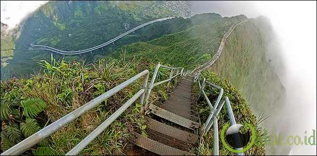 Anak Tangga Haiku, Hawaii