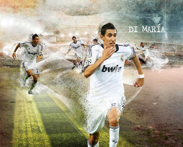 New Di Marya wallpaper HD Real madrid 2013 - 2014