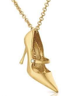 Manolo Blahnik for TOUS, zapato joya, oro, diamantes