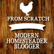 Modern Homesteader Blogger