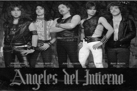 musica rock en espanol Angeles Del Infierno