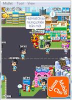 Hình ảnh trong game mGo City phiên bản 2.2.1