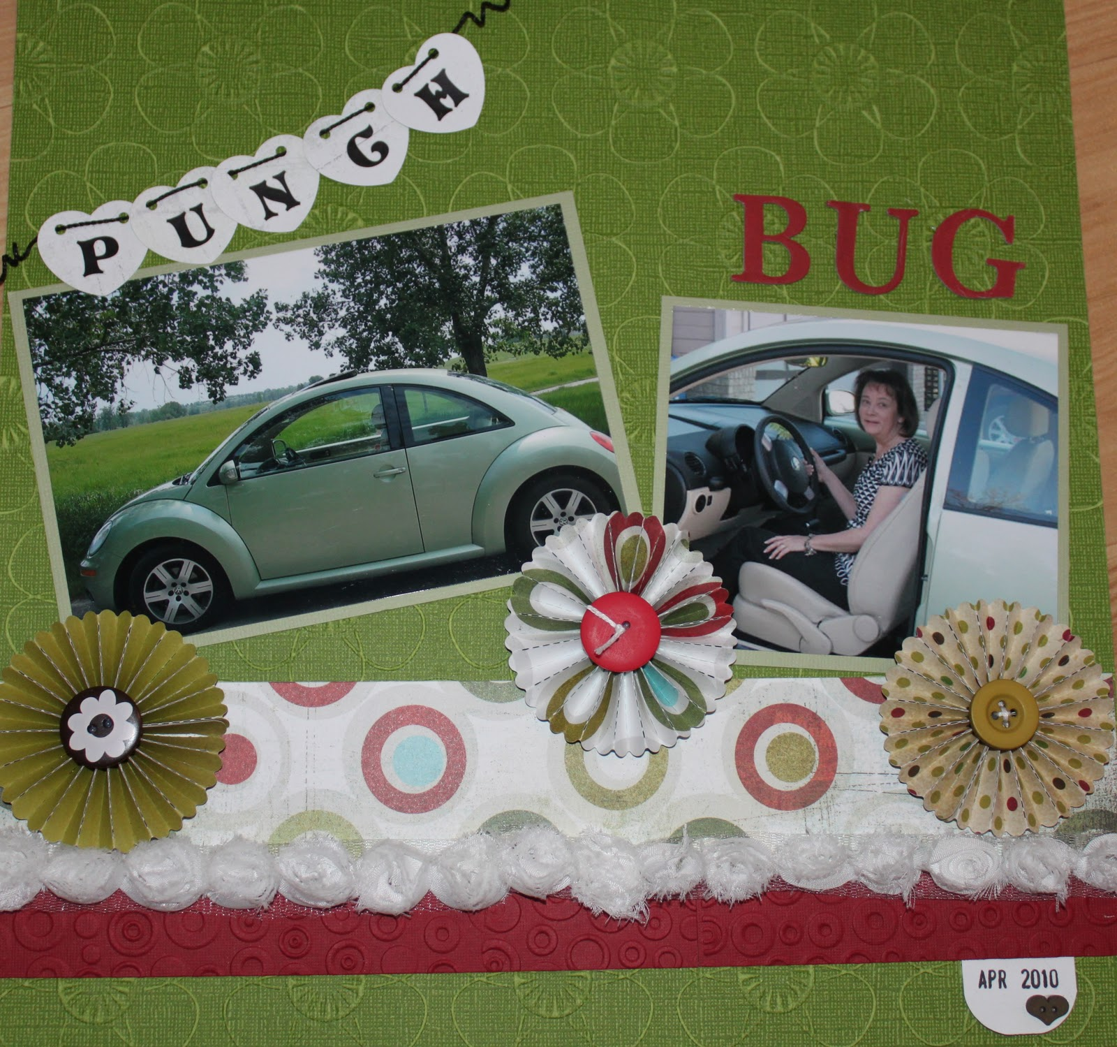 "... the words ""Punch Bug"" are used and you accumulate points, ..."