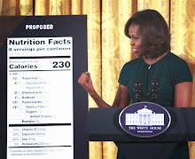 FLOTUS Unveils FDA's New Nutrition Facts Labels