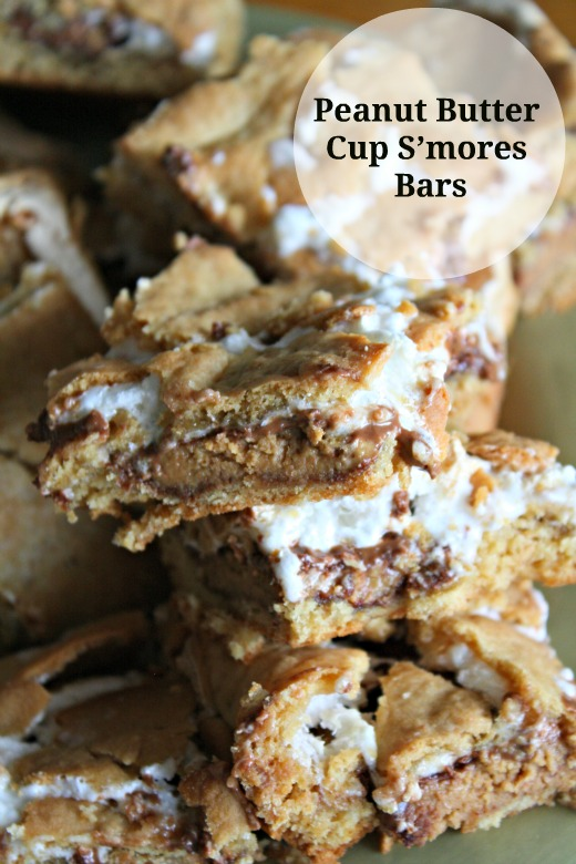 peanut butter cup s'mores bars. | Crowley Party
