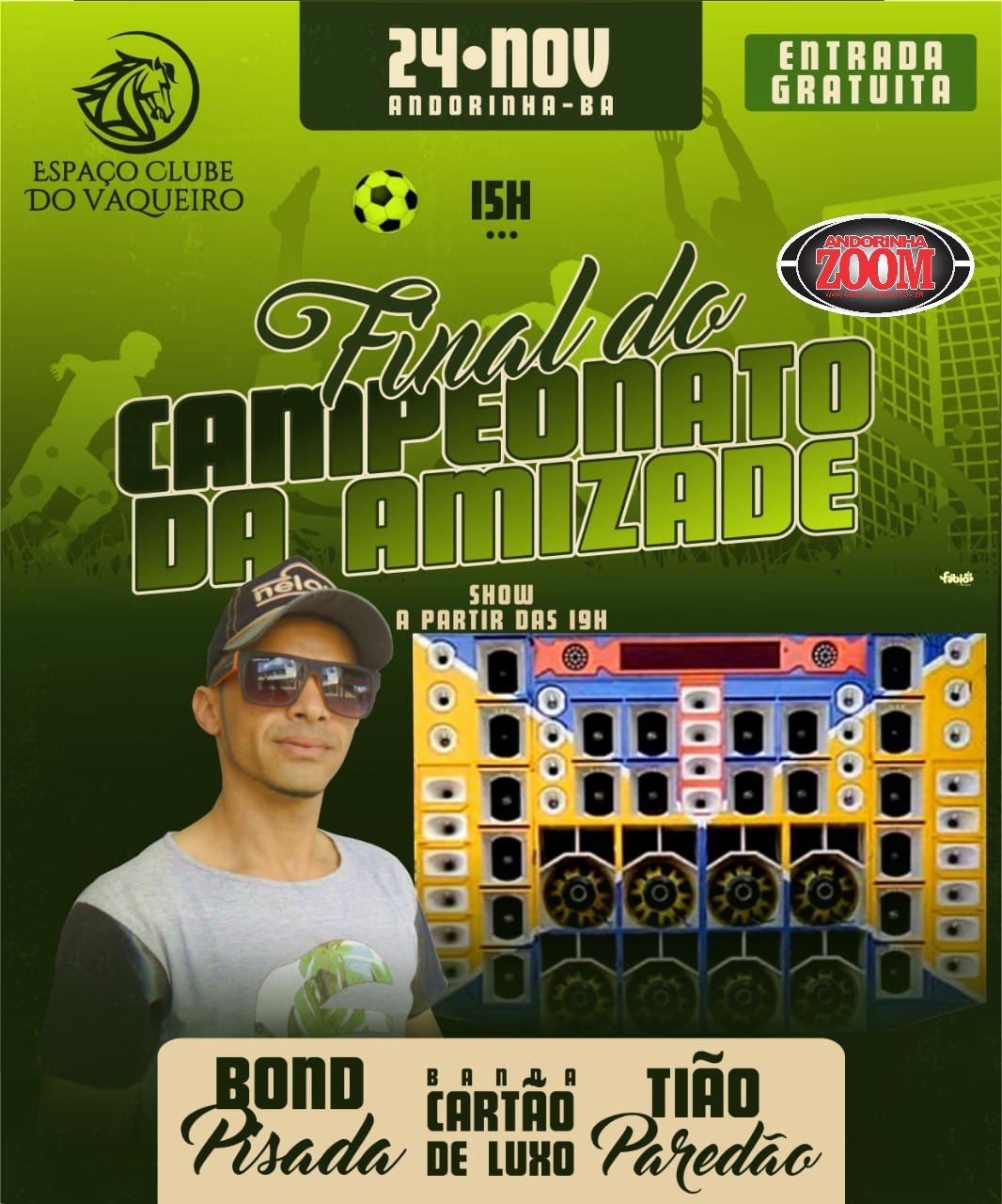 FINAL DO CAMPEONATO DA AMIZADE