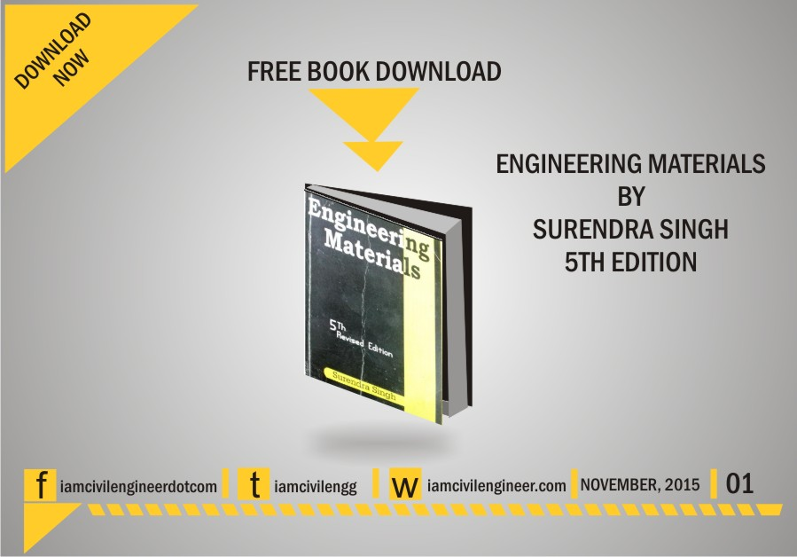 Engineering Materials Books Free Download