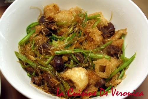 La Cuisine De Veronica,V女廚房,砂爆魚肚炒芹菜素翅雞雜