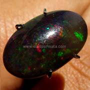 Batu Permata Black Opal Kalimaya - SP728