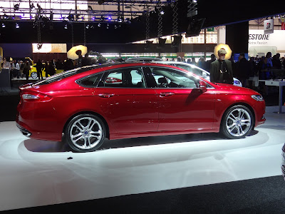 2013 Ford Mondeo Paris Motor Show