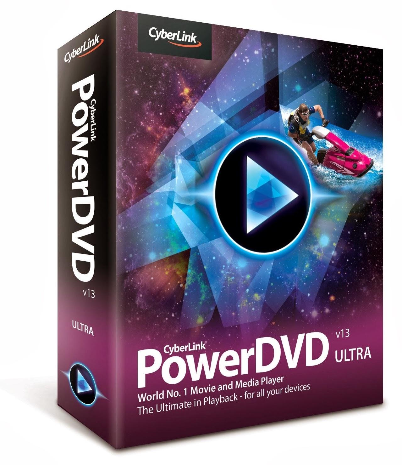 Descargar CyberLink PowerDVD v13.0.3105.58 Ultra Multilenguaje (Español), Reproductor de Blu-Ray HD y DVD Gratis CyberLink+PowerDVD+13