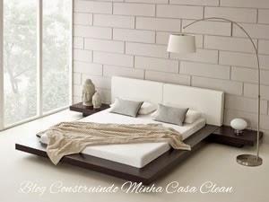 Construindo minha casa clean camas baixas em estilo - Comprar futon japones ...
