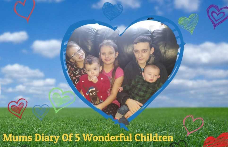 Mums diary of 5 wonderful children xxx