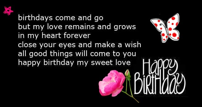 Happy Birthday Quotes For Boyfriend Photos And Status Happy Thank You For The Happy Birthday Wishes