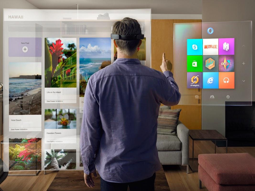 Microsoft Hololens Living Room