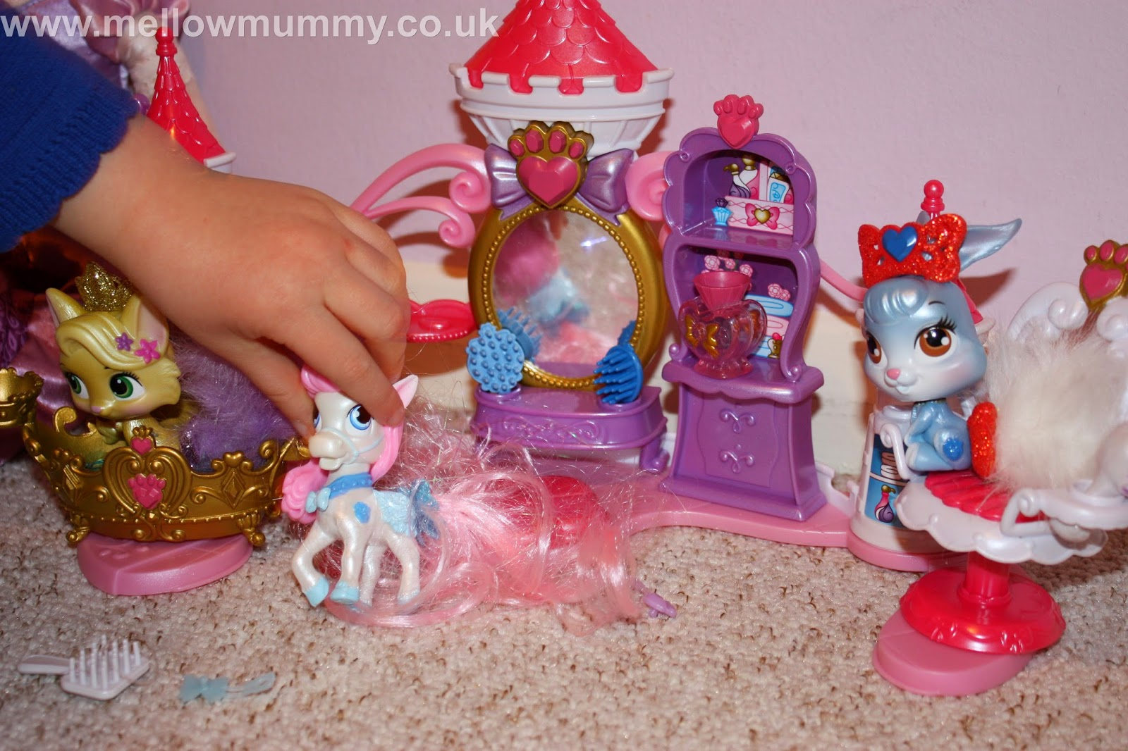 The Disney Princess Palace Pet Pamper & Beauty Salon Set
