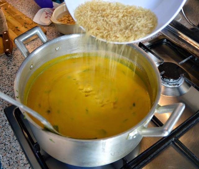 Zupka harira ryż