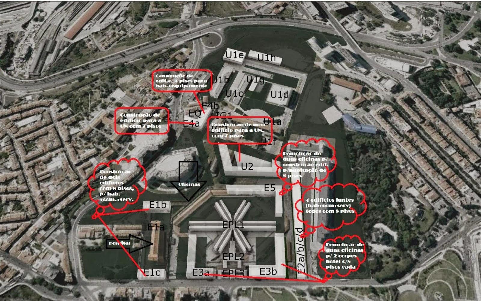 Contributo p/a discussão pública PP Campus Campolide