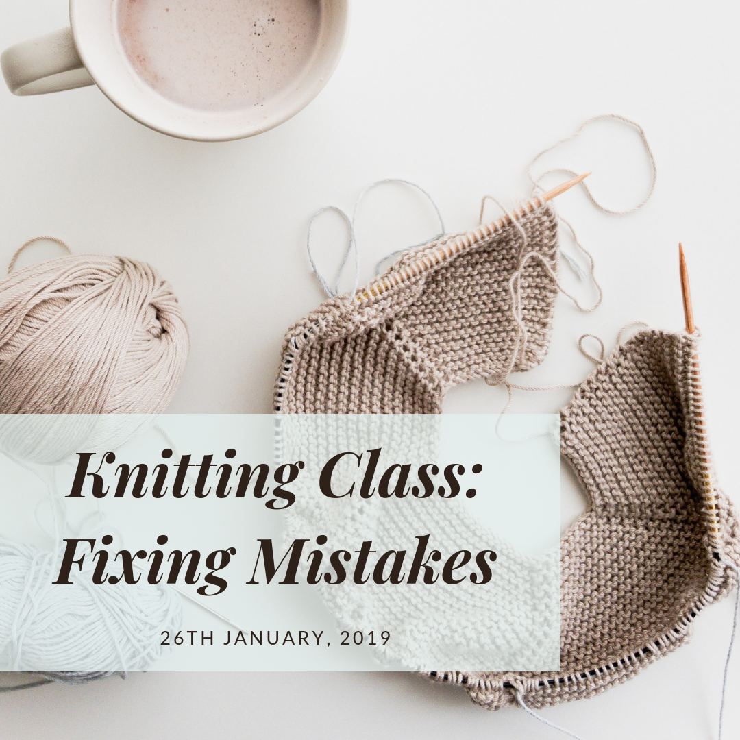 Bellingen Knitting Classes