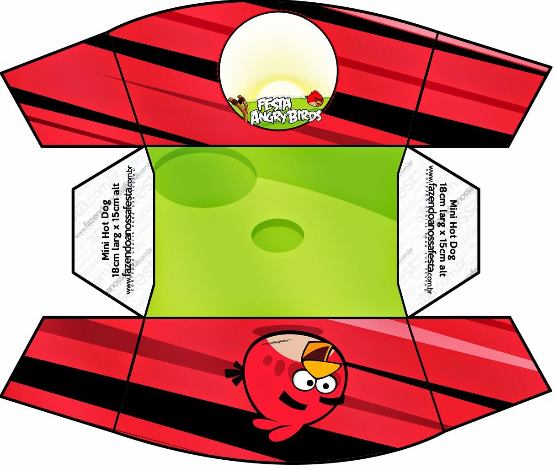Para Hot Dogs = Perros Calientes de Angry Birds.
