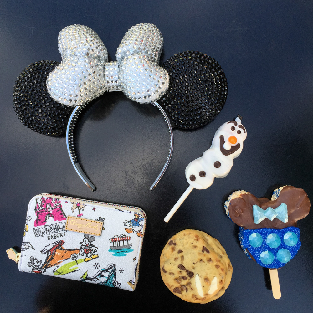 Disneyland 60th Anniversary Diamond Celebration Commemorative Mickey Ears