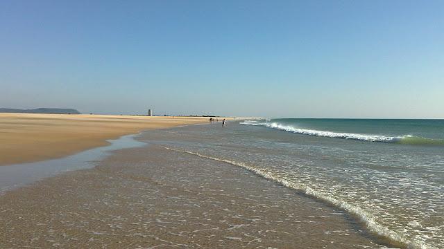 Het strand van Conil de la Frontera behoort tot de mooiste stranden van Andalusië