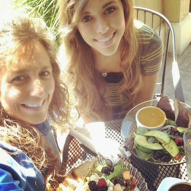 mother-daughter lunch date