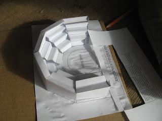 амфитеатър от хартия