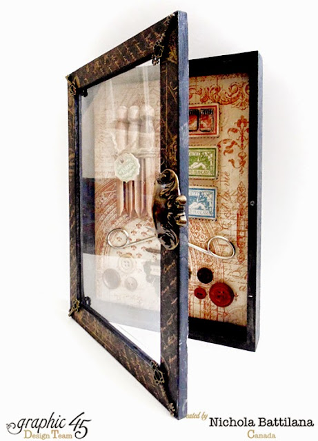 French Country Curio Box - Nichola Battilana