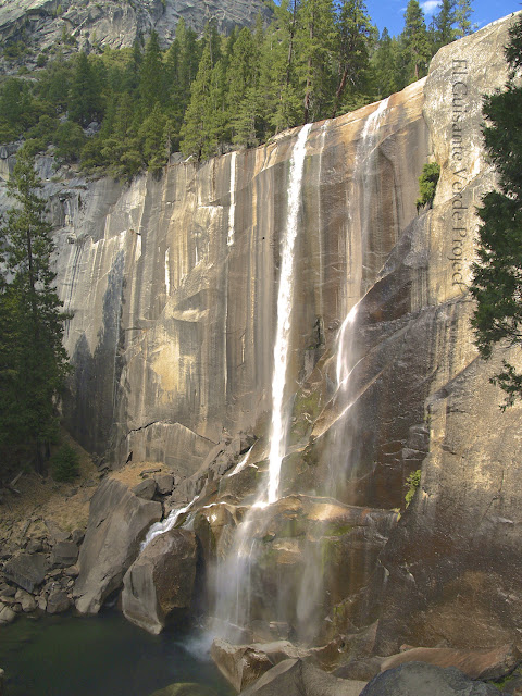 Vernal Fall en Yosemite, por El Guisante Verde Project