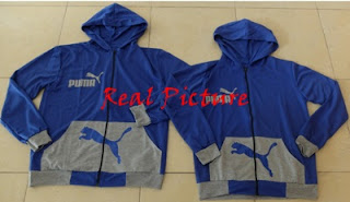 real picture Jacket Puma Pocket