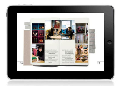 Sketchbook Magazine Tablet