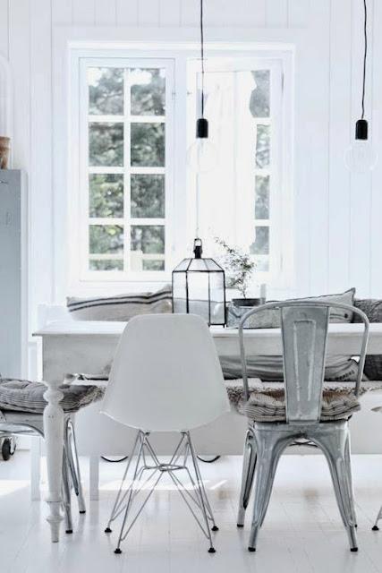 195 تصاميم غرف سفرة و طاولات طعام مودرن