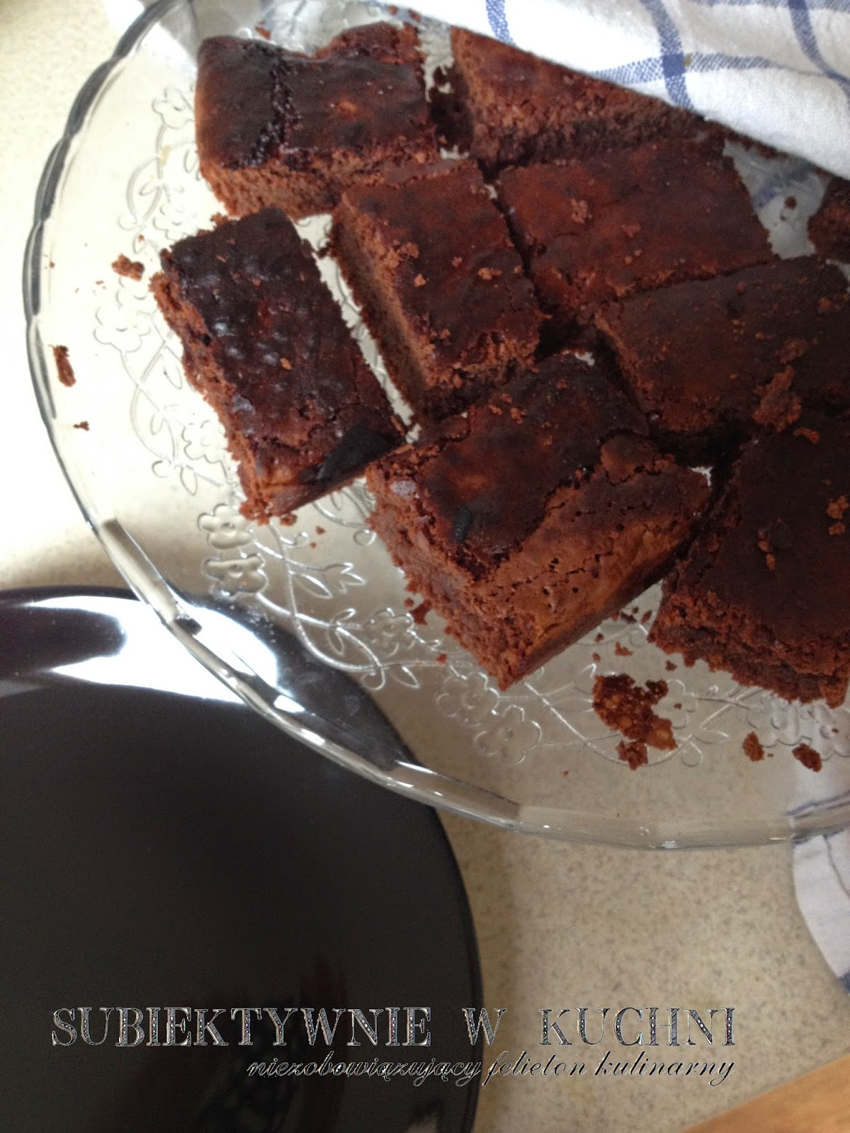 browni,bezglutenowe, sans gluten, glutenfreie, sin gluten, gluten-free