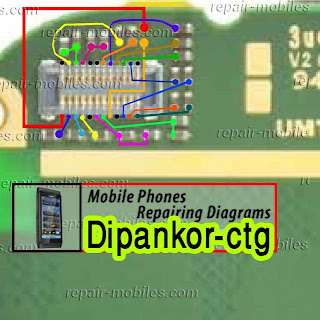 Solution Free : NOkia Asha 203 LCD Display jumper Solution Ways 100%