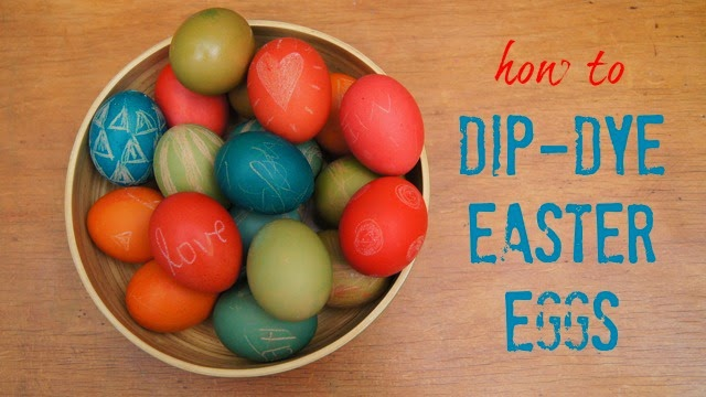 http://froggooseandbear.blogspot.com.au/2014/04/easter-craft-dip-dyed-easter-eggs.html