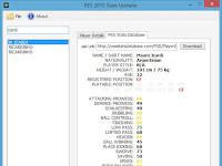 Cara Mudah Update Statistik Pemain Berdasarkan PES Stats Database
